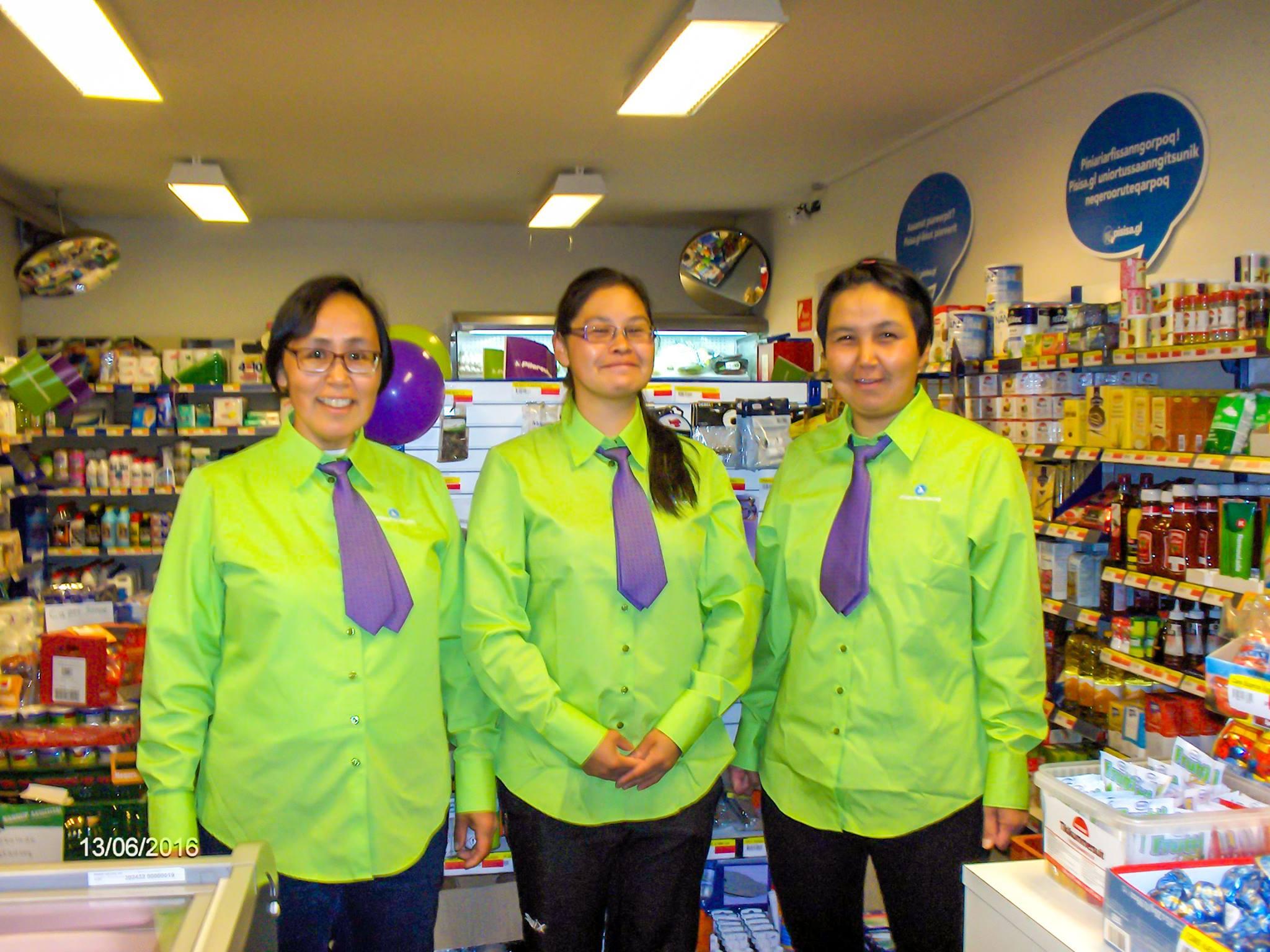Nyt arbejdstøj i Pilersuisoq | Sermitsiaq.AG