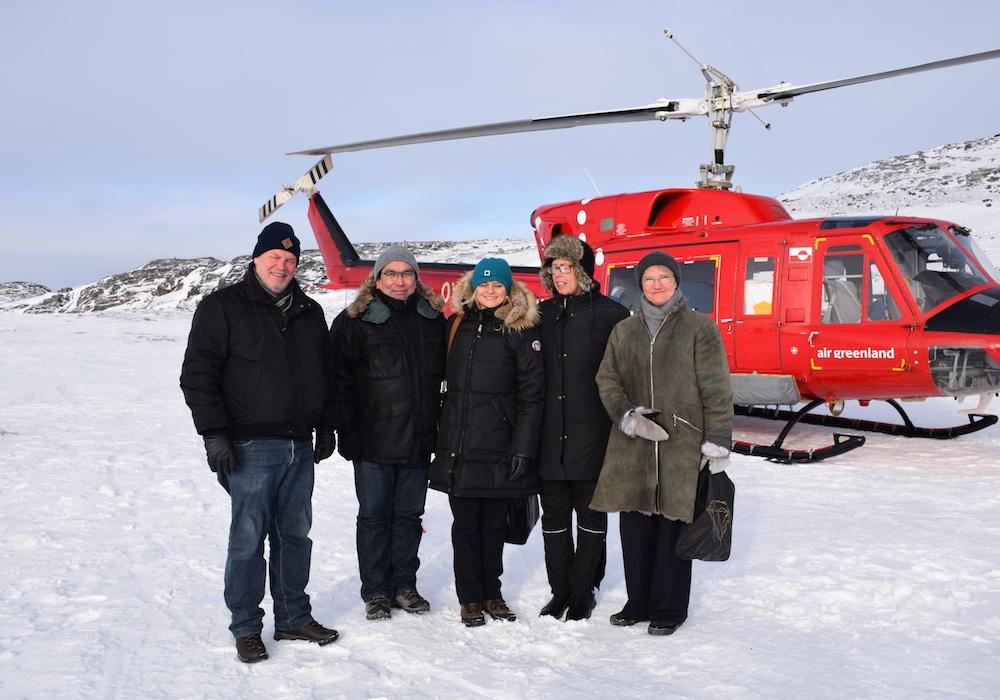 Se billeder: Nordiske ministre på besøg i Ilimanaq | Sermitsiaq.AG