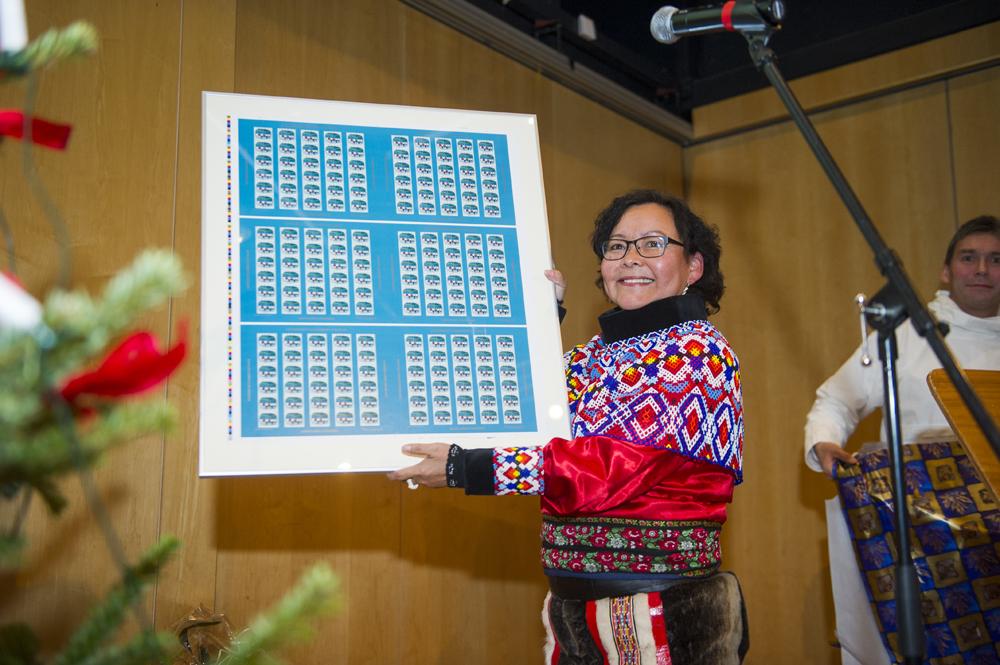 Her er Grønlands nye julemærke | Sermitsiaq.AG