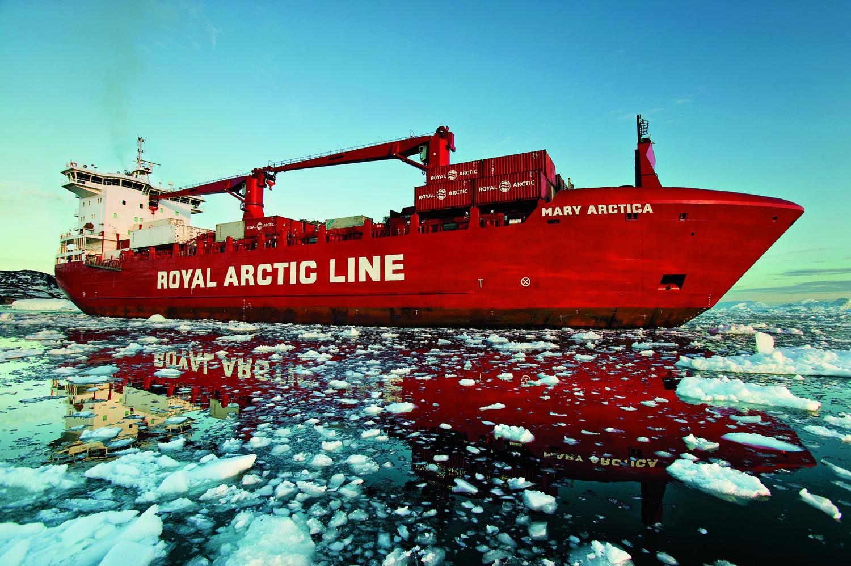 Arctic Line : Royal arctic line halverer underskuddet sermitsiaq ag