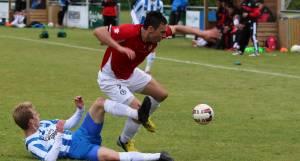 Fodboldkamp, landshold, OB, U19, juni 2015