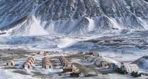 Ironbark, Zinkmine, Citronenfjord, camp