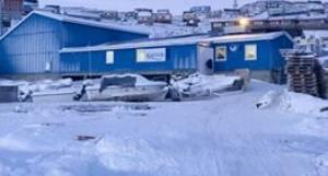 Royal Greenlands lageranlæg i Kullorsuaq