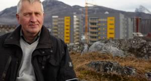 Preben Kold Larsen, Permagreen, foran byggeri