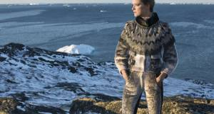 Iskrystalprinsessen vol II - bæredygtig kulturarv - udstilling på Grønlands National Museum