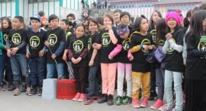 Skolebørn, Maniitsoq, koncert, Qujanaq