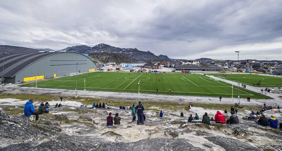Kunstgræsbaner i Nuuk