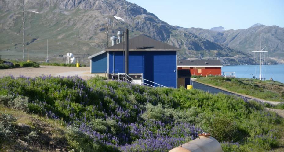 A-bygningen, Grønnedal