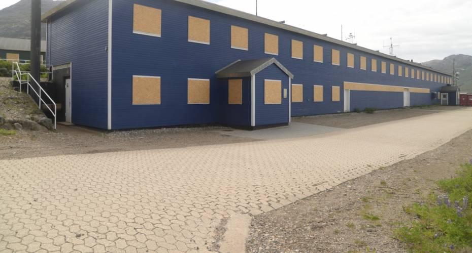 A-bygningen, dalshop, Grønnedal