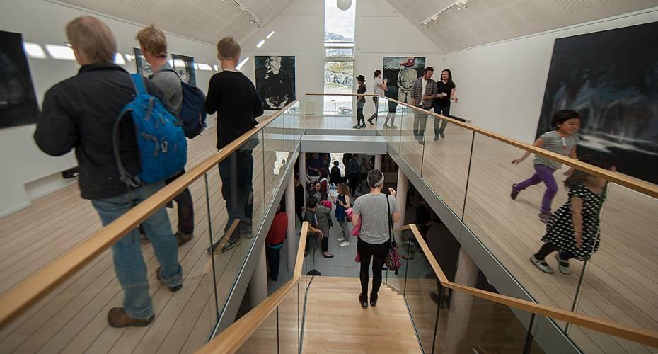 Bolatta Silis Høegh, kunstudstilling, Nuuk Kunstmuseum