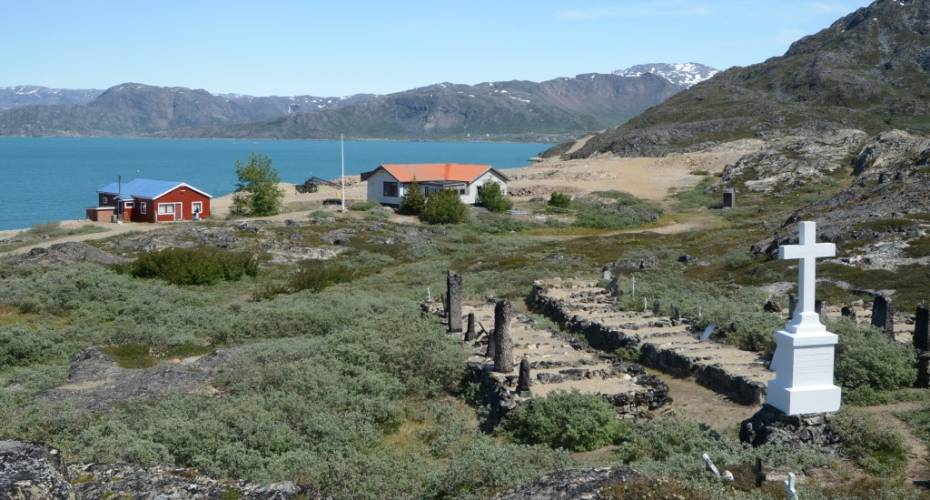 Kirkegård, Grønnedal, Ivittuut
