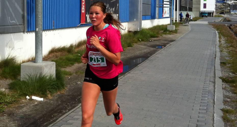 Nuuk Marathon 2014, Niviaq Berthelsen