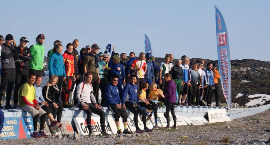 AMO, Arctic Midnight Orienteering, Ilulissat, deltagere