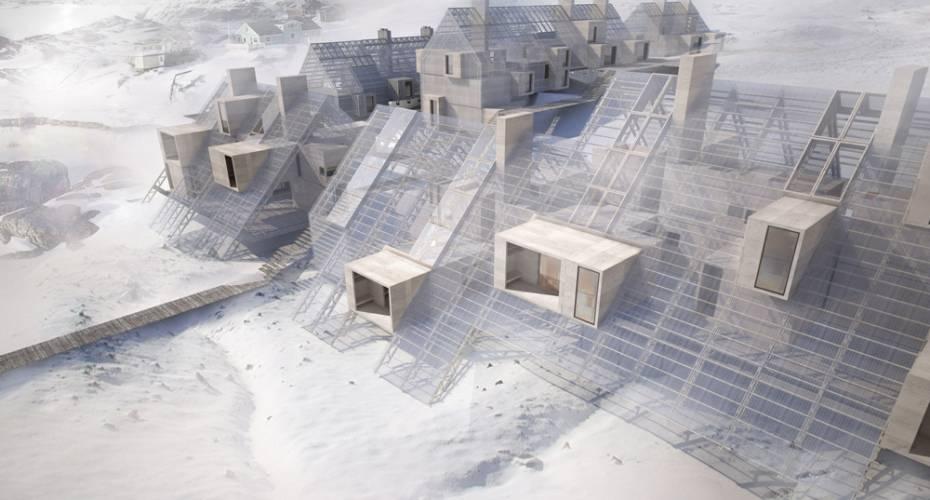 Arktisk byggeri, byggeskik, Vandkunsten