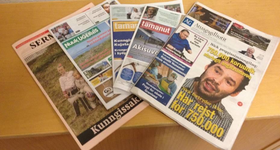 Aviser, SermitsiaqAG, Nuuk Ugeavis, Tamanut