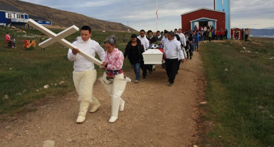 Begravelse i Qaanaaq