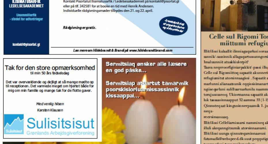Aviser en del af demokratiet | Sermitsiaq.AG