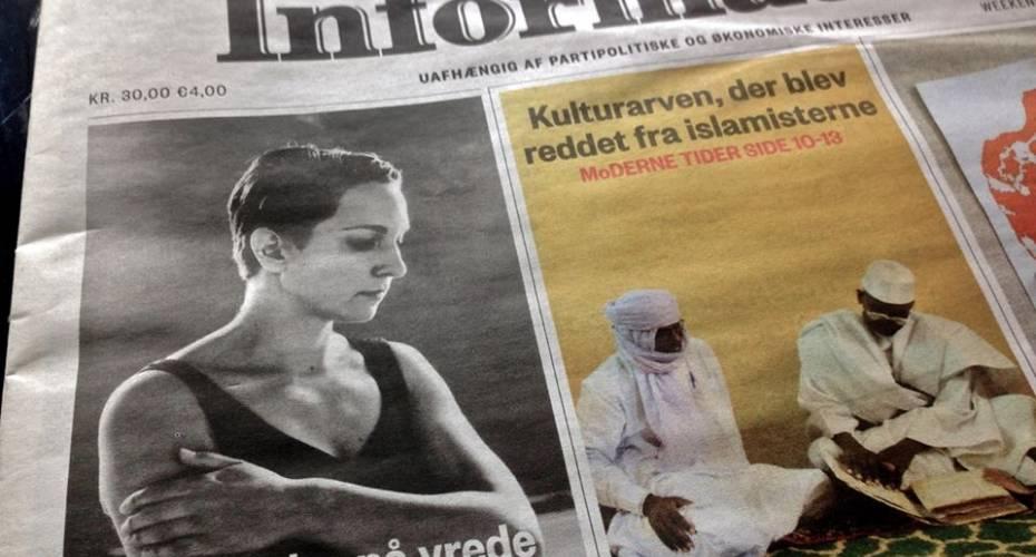 Information, forside, Bolatta Silis Høegh