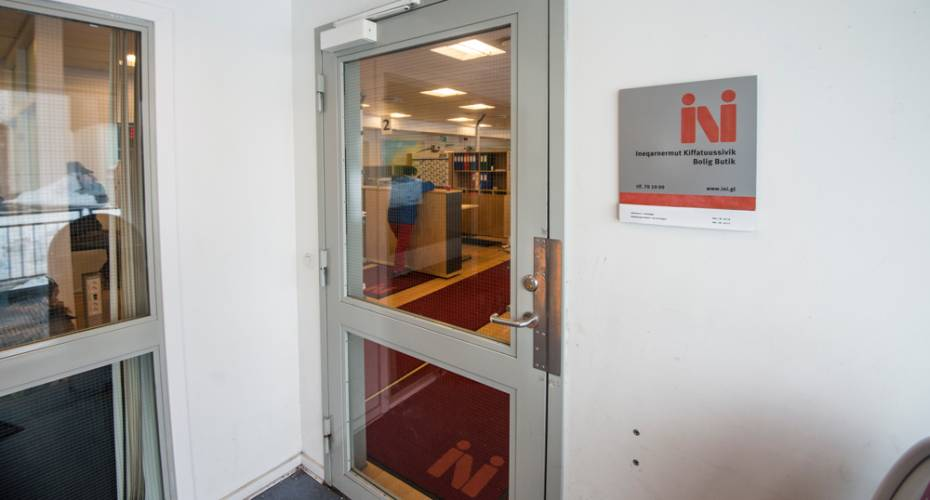 Boligselskabet Ini, Nuuk, boligbutik