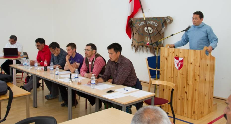 Fåreholderforening, SPS, Generalforsamling, Qaqortoq, Borgmester Jørgen Wæver Johansen