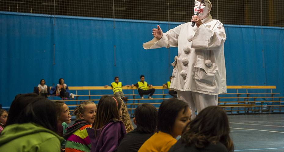 Cirkus Arena klar til verdenspremiere i Grønland | Sermitsiaq AG