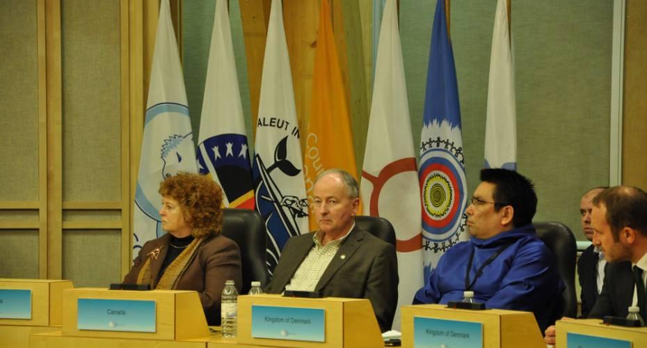 Vittus Qujaukitsoq, Arktisk Råd, Iqaluit
