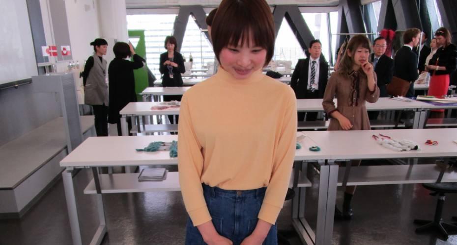 Design, sælskind, Japan, elev, designskole
