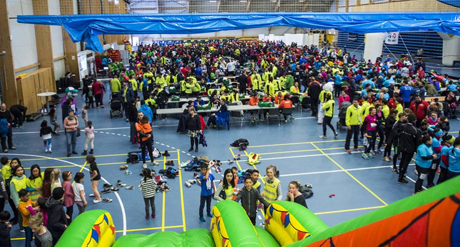 Nuuk-Stafet, 2015, DHL-løb