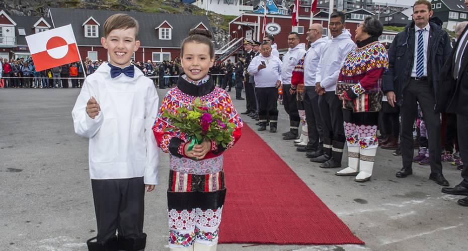 Regentparret i Nuuk