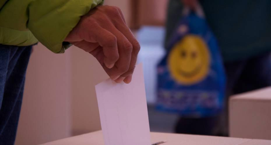 Stemmeseddel, valgurne, Aasiaat