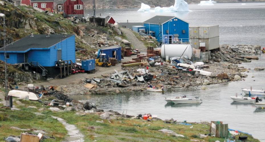 Nuussuaq, landanlæg, fiskefabrik, Upernavik Seafood, Royal Greenland