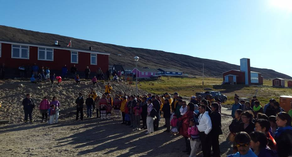 1. skoledag i Qaanaaq
