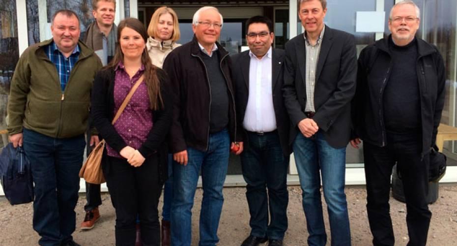 Delegation, Grønland, biltestcenter, Kangerlussuaq, Nordsverige