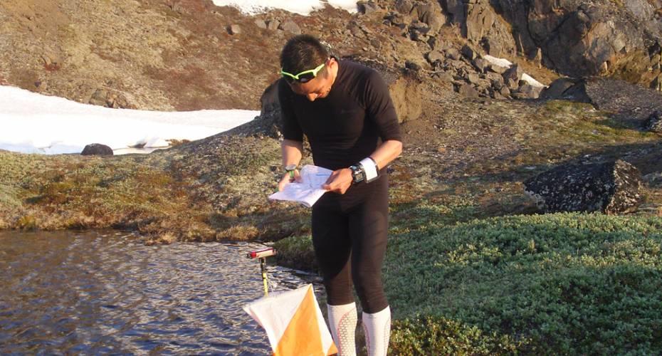 AMO, Arctic Midnight Orienteering, Ilulissat, Frederik Petersen