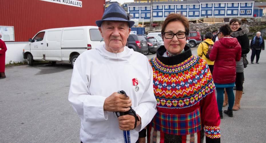 Hendrik Nielsen, Erik Nielsen Baadh, Nationaldag, 2015, Qaqortoq
