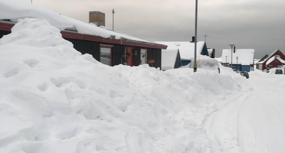 Sne i Nuuk