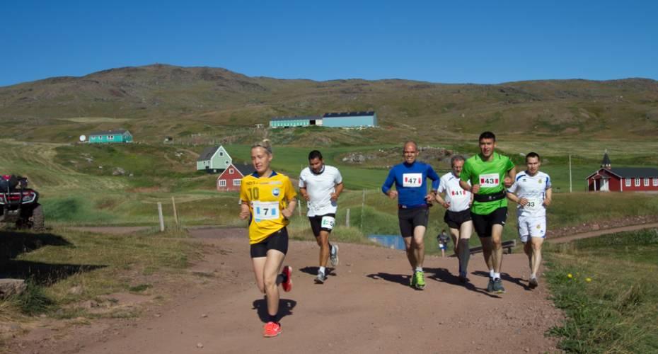 Leif den Lykkeliges Maraton, Qassiarsuk, Lisa Lund Fleischer,