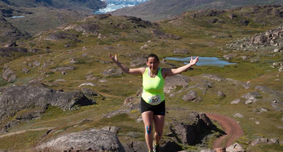 Leif den Lykkeliges Maraton, Qassiarsuk, Heidi Møller, Marathon