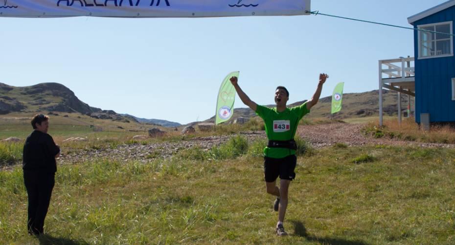 Arne Simonse, Qassiarsuk Marathon, Leif den Lykkeliges Maraton