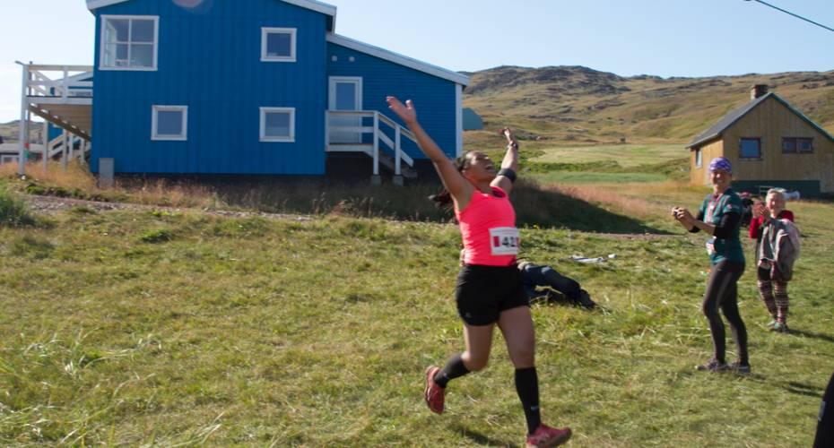 Leif den Lykkeliges Maraton, Qassiarsuk, Ina Næsted Nielsen, Marathon