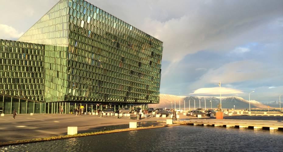 Island, koncerthus, Harpa, Reykjavik