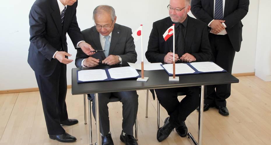 Forskningsaftale mellem Grønland og Japan