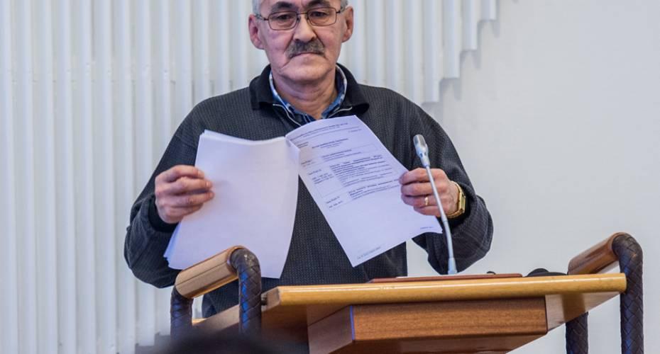 Jens Imanuelsen, Siumut, Inatsisartut, gruppeformand