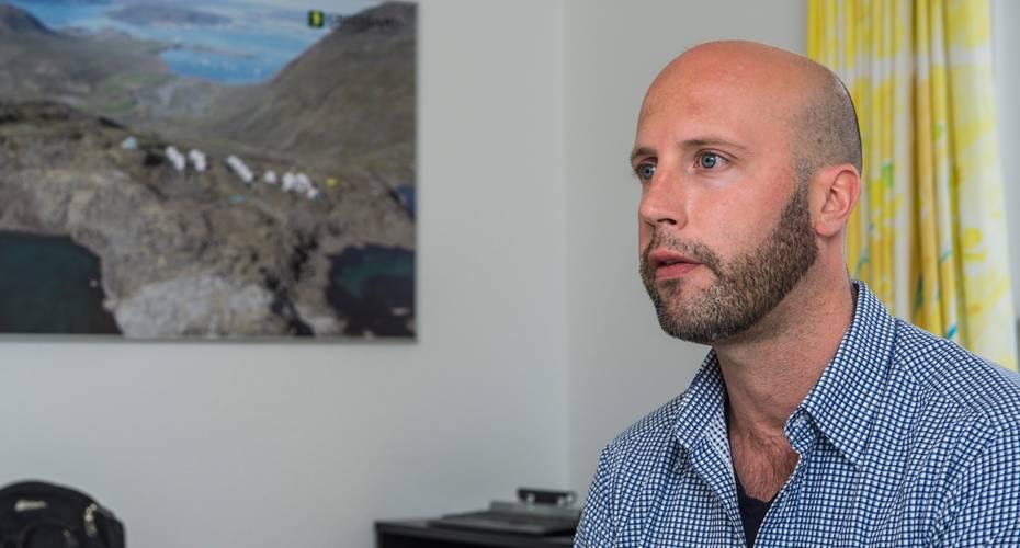 John Mair, administrerende direktør, CEO, Greenland Minerals and Energy