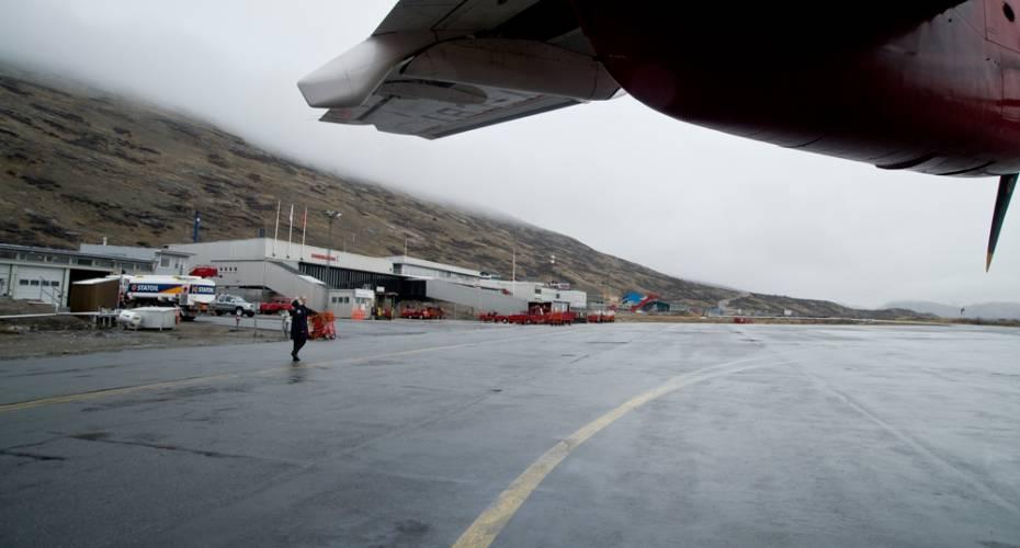 Brændstof, Kangerlusuaq, Air Greenland, Mittarfeqarfiit
