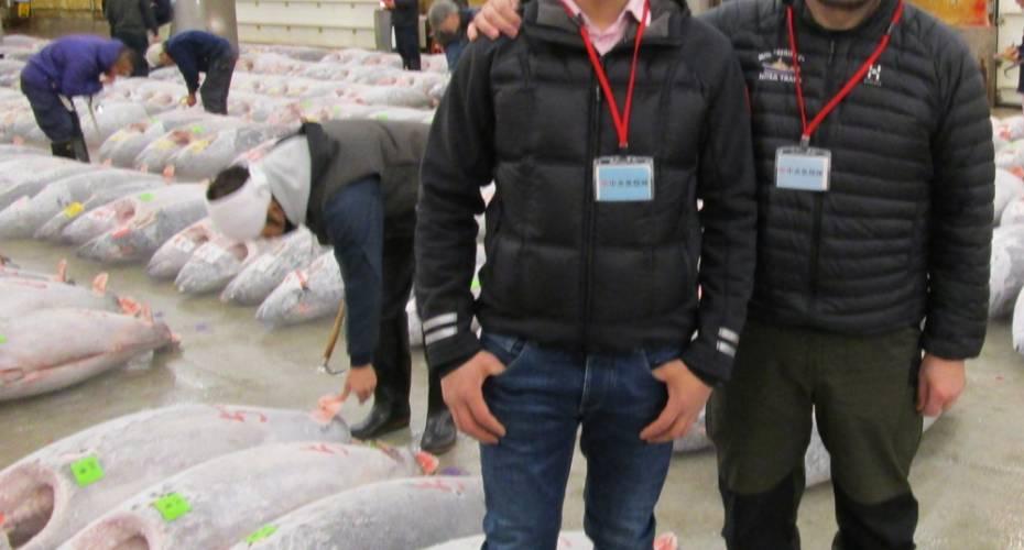 Kim Kielsen, Karl-Kristian Kruse, fiskemarked, Tokyo