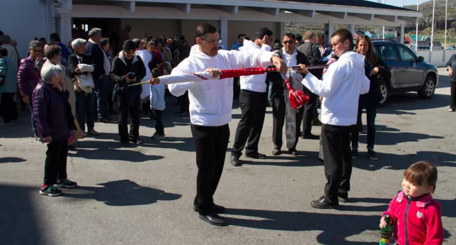 Fåreholderforening, SPS, Generalforsamling, Qaqortoq, kirke