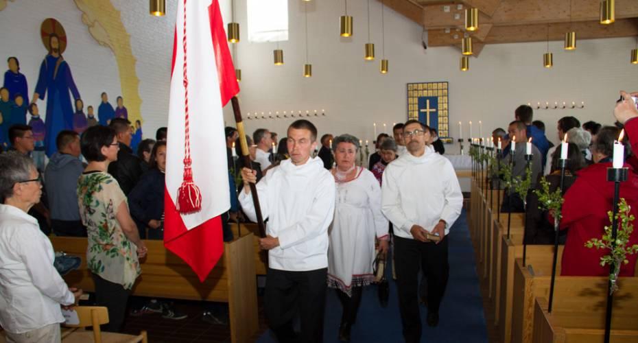 Fåreholderforening, SPS, Generalforsamling, Qaqortoq, kirkegang