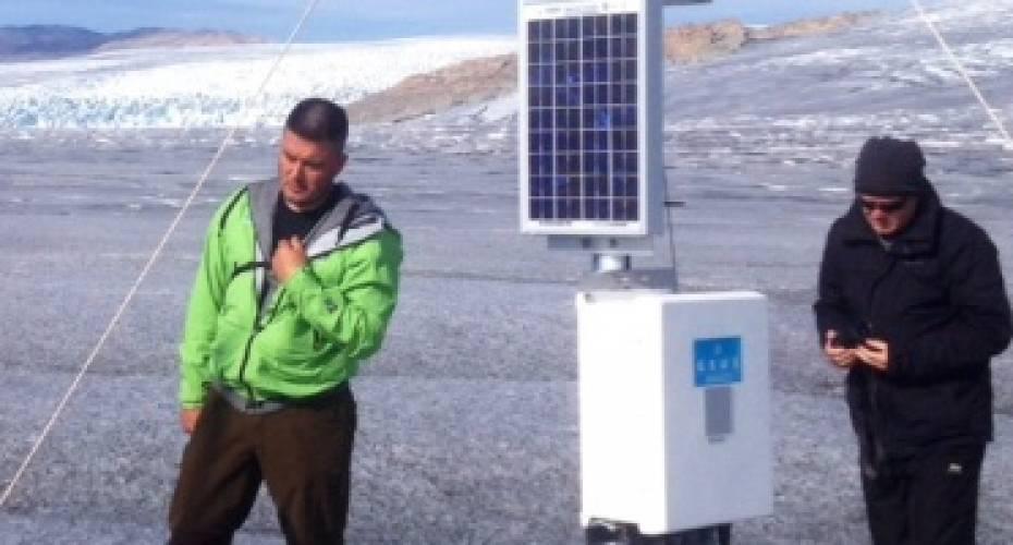 Kim Kielsen, Rasmus Helveg Petersen, Buksefjorden, vandkraftklimaforskning, Sydgrønland, GEUS, Gletsjer