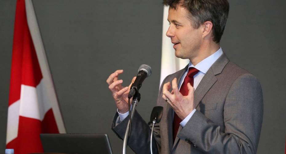 Kronprins Frederik, Tokyo, Arktisk seminar